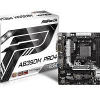 Motherboard AMD ASROCK AB350 Pro4 (AM4, AMD Promontory B350, DDR4)