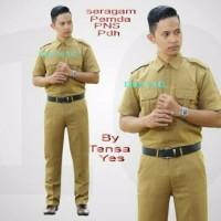 Baju Seragam Keki Pemda PNS/ Seragam PNS