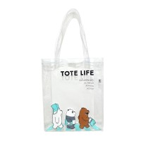 We Bare Bears Tote Bag Clear