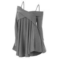 DISKON & FREE ONGKIR!! Sweater Tunik Bahu Terbuka Merambah Original