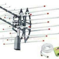 Antena tv Luar Digital Remot Control plus Cable 10 meter