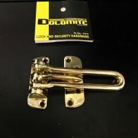 Door Guard/ kunci tambahan Dolomite warna gold
