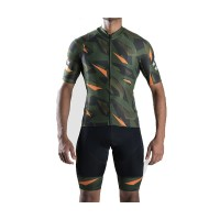 Blacksheep Barmy Army Green Cammie Cycling Kit Men