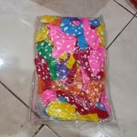 balon karet polkadot || balon ulang tahun || balon pesta grosir 12'