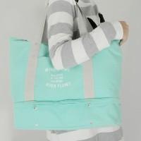 707 Travel Organizer Tote Tas Shoulder Korea style Layer Bag