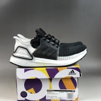 Sepatu Adidas Ultra Boost 19 Oreo Black White