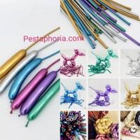Balon Latex / Lateks Pentil Chrome / Balon Panjang / Twist / Magic