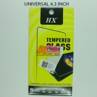 TEMPERED GLASS ANTI GORES CRACK TG UNIVERSAL SEMUA TYPE 4.3 INCH