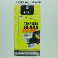 TEMPERED GLASS ANTI GORES CRACK TG UNIVERSAL SEMUA TYPE 4.0 INCH