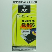 TEMPERED GLASS ANTI GORES CRACK TG UNIVERSAL SEMUA TYPE 4.7 INCH