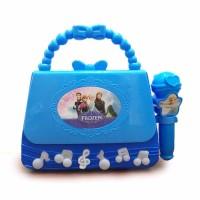 Mainan Anak - Microphone Frozen Bag Mic Tas Single Karaoke