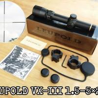TELESKOP - TELESCOPE LEUPOLD 1 - 5 X 20 TIPE BUNTUNG
