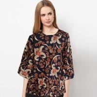 Baju Blus Atasan Batik Wanita ~ Kembang Arumi