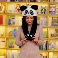 Topi Panda Lucu Nari Gerak Goyang / Panda Hat Dance Korea