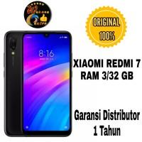 HP XIAOMI REDMI 7 [3/32 GB] RAM 3GB ROM 32GB -BLACK & RED -DISTRIBUTOR