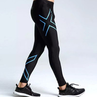 2XU men women jogger Compression fitness tight running clothes breath