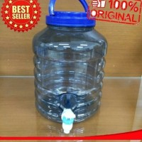 galon mini + keran tempat air kecil water dispenser minuman ANTI BOCOR