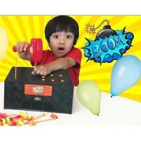 MAINAN BLAST BOX BALLOON GAME - MEMECAHKAN BALON