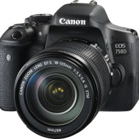 KAMERA CANON EOS 750D WITH LENS EF-S 18-55 IS STM
