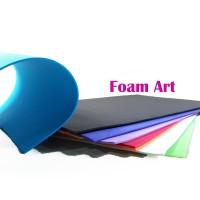 FOAM ART POLOS 1 PAK (ISI 10PC) WARNA CAMPUR