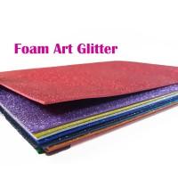 FOAM ART GLITTER 1PAK (ISI 10 CAMPUR WARNA)