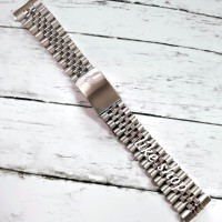 Tali strap rantai stainless jam rolex oyster pria