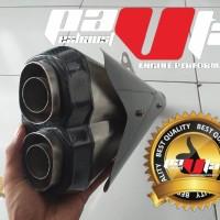 Knalpot Racing Replica Z1000 Carbon Slip 0n Cbr150facelit Ninja250 DLL