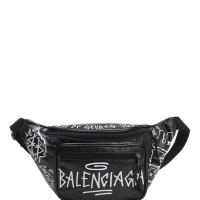Balenciaga explorer graffiti bumbag