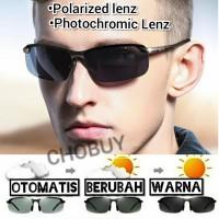 Original Kacamata Siang & malam Photocromic Polarized Sports Sunglass