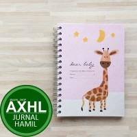 Dear Baby Pregnancy Journal A5 JERAPAH PeekMyBook Buku Jurnal Hamil