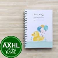 Dear Baby Pregnancy Journal A5 BEBEK PeekMyBook Buku Jurnal Kehamilan
