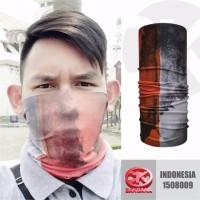 CK Bandana ORIGINAL masker motor motif bendera indonesia