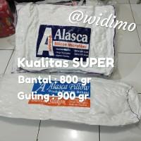 800gr Bantal Kepala Alasca / 900gr Bantal Guling silicon full