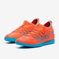 Sepatu futsal Puma Future Netfit 19.3 IT Orange Original