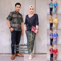 Baju PITALOKA ETNIC Couple Setelan Rok /Kebaya & Blus Sarimbit -By DNT