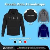 Hoodie Jaket Dota 2 - Gaming Apparel Game Eposrts