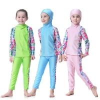 baju renang muslim baby anak 1-3th,10-15th SD diving impot