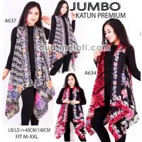 Outerwear batik wanita outer gamis rompi luaran fashion muslim tunik