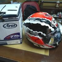 New Arai helmet rx7x doohan TT