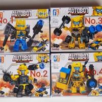 Lego Robot Autobot 2 in 1 Transformer Bumblebee Murah