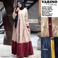 varino jumbo maxy baju gamus wanita muslim gaul cantik