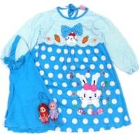Dress Baju Gamis Anak Bayi Cewek Perempuan 03Yb (4 - 12 Bln) - ,