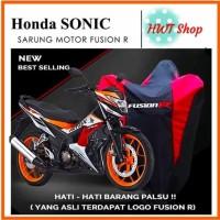 Cover Motor Honda Sonic - Sarung Motor Honda Sonic Merk Fusion R