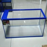 Aquarium armada glass water tank lebar 60cm volume 60 L