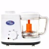 steam blender babysafe/alat kukus dan penghalus makanan bayi
