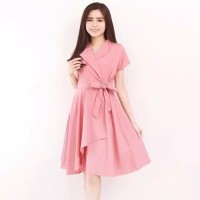 Dress artis Pakaian Wanita Casual Dress Fashion Wanita Baju Cewek
