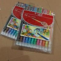 Crayon Putar Titi 12 Warna Panjang