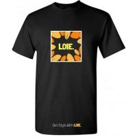 Kaos LOIE - Black V Yellow Tropical Edition t-shirt 1001