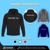 Hoodie Steelseries    Gaming Esports Apparel Razer Jaket