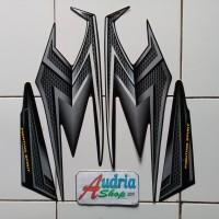 Stiker Striping Motor Yamaha Rx King 2004 Hitam
